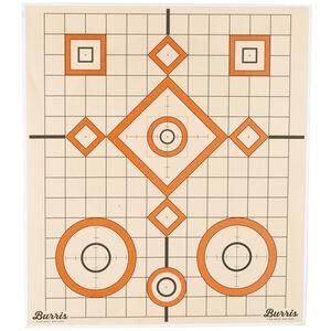 """Burris Paper Target 13"""" x 13"""" 10 Pack"""