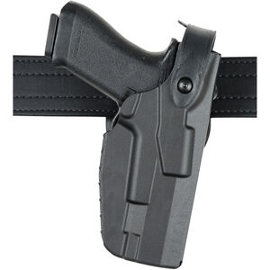 Safariland 7360 7TS ALS/SLS Level III Mid-Ride Belt Holster Fits GLOCK 17/22 with TLR-1/X300 Basketweave Black 7360-8325-481