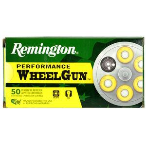 Remington Performance WheelGun .45 Long Colt Ammunition 50 Rounds 225 Grain Lead Semi-Wadcutter 830fps