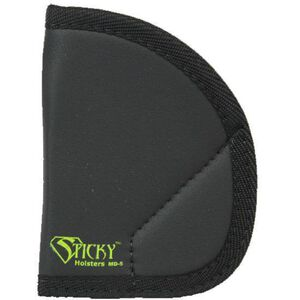Sticky Holsters MD-5 Holster for J-Frame or Similar Revolvers Ambidextrous Black