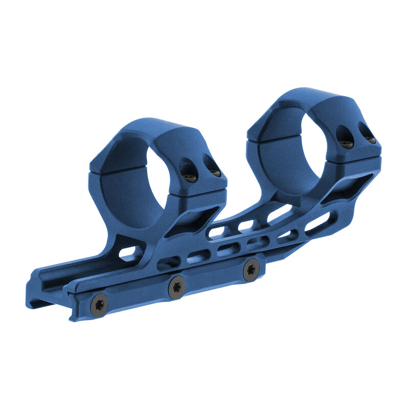 UTG ACCU-SYNC 34mm High Profile 50mm Offset Pic. Rings, Blue