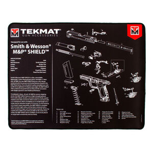 TekMat Smith and Wesson M&P Shield Ultra Premium Gun Cleaning Mat Neoprene