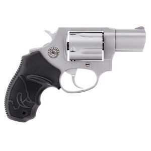 """Taurus 905 Double Action Revolver 9mm Luger 2"""" Barrel 5 Rounds Fixed Front Sight/Fixed Rear Sight Spurred Hammer Soft Rubber Grip Matte Stainless Steel Finish"""