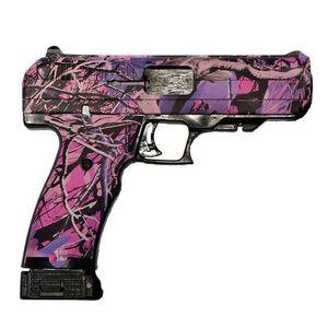 "Hi-Point Semi Auto Pistol .40 S&W 4.5"" Barrel 10 Rounds Polymer Frame Pink Camo 34010 PI"