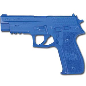Rings Manufacturing BLUEGUNS SIG Sauer P226 With Rail Weighted Handgun Replica Training Aid Blue FSP226RW