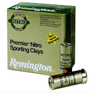 """Remington Premier STS Nitro SC 12 Gauge Ammunition 250 Rounds 2-3/4"""" #8 Lead 1-1/8 Ounce STS12NSC8"""