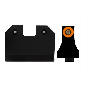 XS Sights R3D Suppressor Height Night Sights for Glock 17/19/26 Orange Front Sight