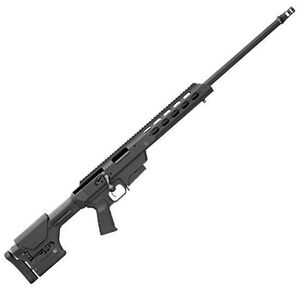 "Remington Model 700 Tactical Chassis Bolt Action Rifle .300 Win Mag 24"" Barrel Free Floated Magpul PRS Stock AAC 51-T Ratchet Mount Muzzle Brake X-Mark Pro Trigger Black 84475"