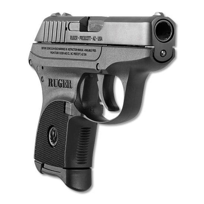 """Ruger LCP .380 ACP Semi Auto Pistol 2.75"""" Barrel 6 Rounds Polymer Frame Matte Black"""