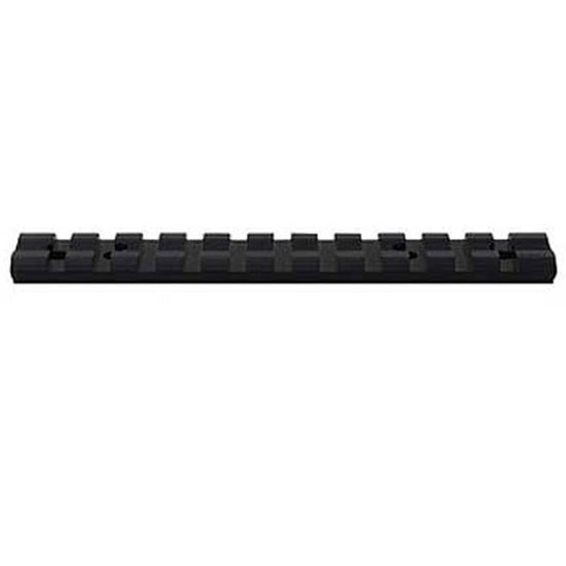 Weaver 1 Piece Base Black Multi Slot Remington 700LA 48334