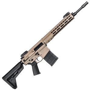 "Barrett Rec10 .308 Winchester AR Style Semi Auto Rifle 16"" Barrel Free Float Hand Guard Magpul Collapsible Stock Flat Dark Earth Finish"