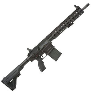 "Heckler & Koch MR762-A1 7.62 NATO Semi Auto Rifle 16.5"" Barrel 20 Round Magazine HK Free Float Rail Collapsible Stock Matte Black"