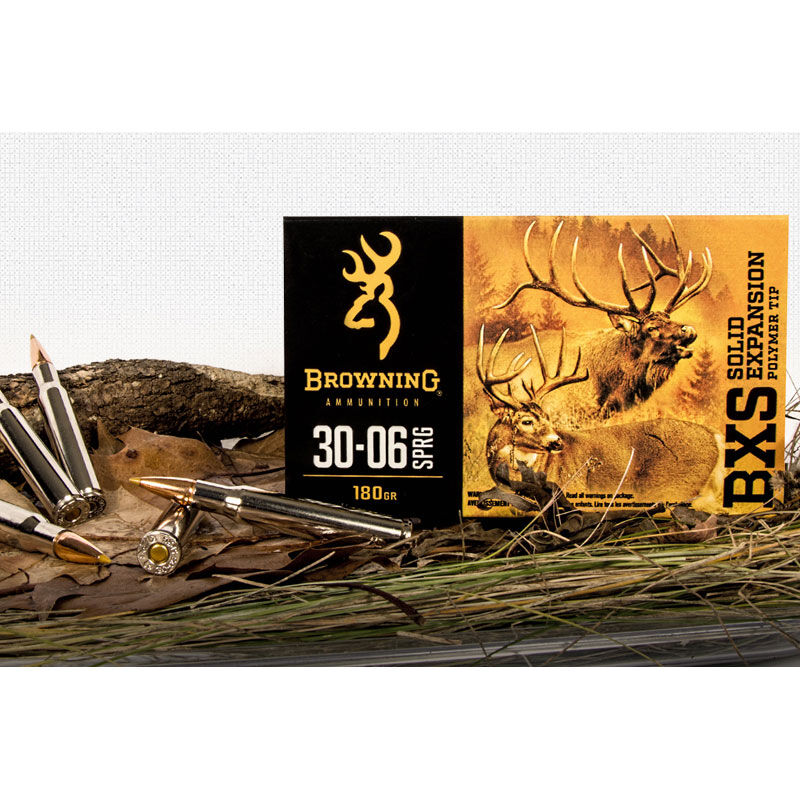 Browning .300 Winchester Magnum Ammunition 200 Rounds BXS 180 Grains