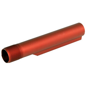 LBE Unlimited AR-15 Mil-Spec Recoil Buffer Tube, Red