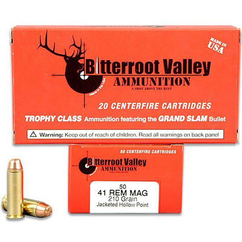 41 Magnum BVAC JHP 210 Grain 50 Round Box 1303 fps Hunting and Self  Defense Ammunition