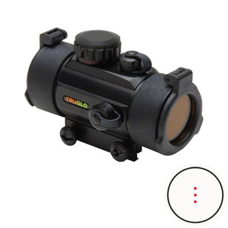 TRUGLO 30mm Crossbow Red Dot Scope 3 Dot Black TG8030B3