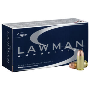 Speer Lawman .45 ACP Ammunition 50 Rounds TMJ 230 Grain 830fps