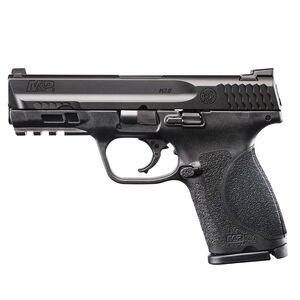 "S&W M&P9 M2.0 9mm 4"" Compact Semi Auto Pistol 9mm Luger 4"" Barrel 15 Rounds No Thumb Safety Matte Black"