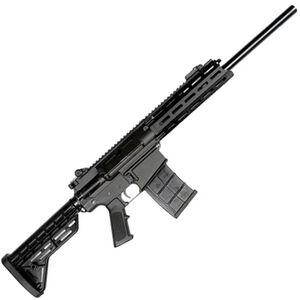 "JTS Group M12AR 12 Gauge Semi Automatic Shotgun 18.7"" Barrel 3' Chamber 5 Round Magazine Aluminum M-LOK Forend Polymer Furniture Matte Black"