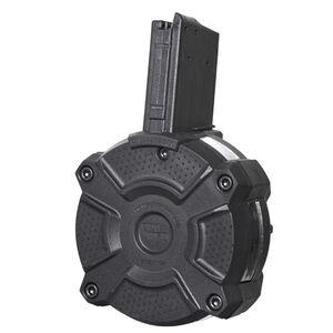 ProMag AR-15 Drum Magazine .223 Rem/5.56 NATO 65 Rounds Windowed Polymer Black DRM-A8