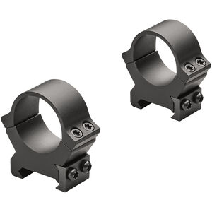 "Leupold PRW2 Weaver/Picatinny Style Scope Rings 1"" Tube Low Height Machined Steel Matte Black"