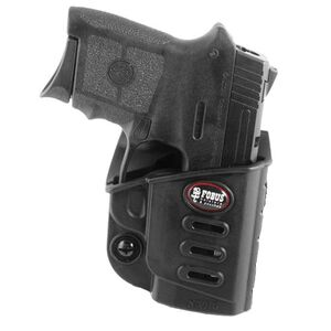 Fobus Evolution Holster S&W Bodyguard .380 w/Crimson Trace Laser Right Hand Belt Attachment Polymer Black