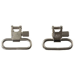 Sling Swivels QD Nickel Works For:  Browning Rifles A-Bolt  Stainless Stalker; Marlin Rifles 60SS 60SSK 70PSS 795SS 880SS 882SS/SV 922SS 995SS   (See Description)