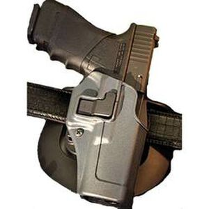 H&K USP Compact Blackhawk SERPA Sportster Paddle Holster Left Hand Gun Metal Gray Finish