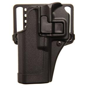 BLACKHAWK! SERPA CQC Concealment Belt/Paddle Holster HK VP9/VP40 Left Hand Polymer Matte Black