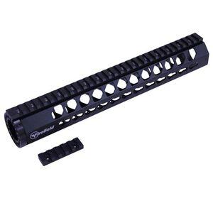 "Firefield Edge AR-15 Free Float KeyMod Rail 12"" Aluminum Black"