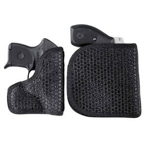 DeSantis M44 Super Fly Pocket Holster Ambidextrous Black NAA .32, Beretta 950, 21, 21A Nylon Black