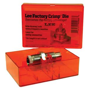 Lee Precision 6.8 Rem SPC Factory Crimp Die Steel 90735