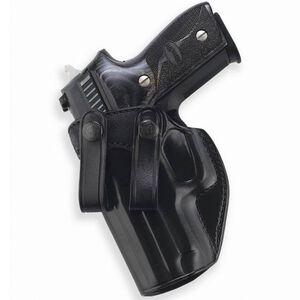 Galco Summer Comfort GLOCK 19, 23, 32 Inside Waistband Holster Left Hand Leather Black SUM227B