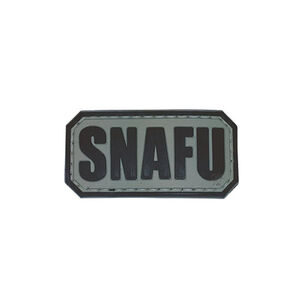 5ive Star Gear SNAFU Morale Patch PVC Grey/Black