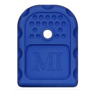 Midwest Industries GLOCK Magazine Floor Plate 6061 Aluminum Anodized Finish Blue
