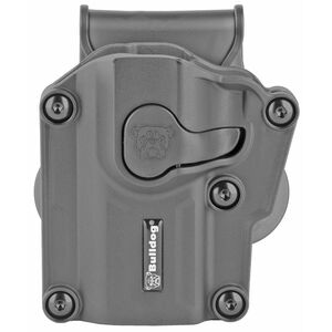 Bulldog Cases Max Multi Fit Polymer Paddle Holster For Most Semi Auto Handguns Left Hand Black