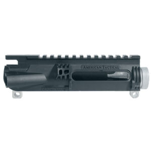 American Tactical Imports AR-15 Omni Hybrid Maxx Stripped Upper Receiver Multi Caliber Metal Reinforced Polymer Construction Sniper Gray