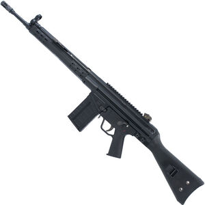 "PTR 91 PTR-A3S Semi Auto Rifle .308 Win 18"" Tapered Barrel 20 Rounds Polymer Handguard Fixed Stock Black"