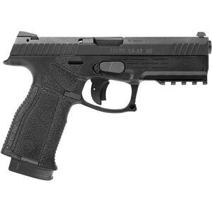 "Steyr Arms A2 MF 9mm Luger Semi Pistol 4.5"" Barrel 17 Rounds Steyr Trapezoid Sights Modular Polymer Grip Frame Black"