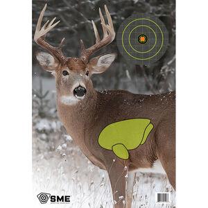 "SME Game Targets Deer Highlighted Vital Area 16.5""x24"" 3 Pack"
