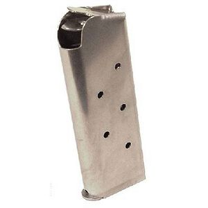 Colt 1911 Officer 7 Round Magazine .45 ACP Stainless