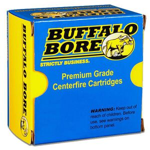 Buffalo Bore .327 Federal Ammunition 20 Rounds HC Keith SWC 130 Grains 37B/20
