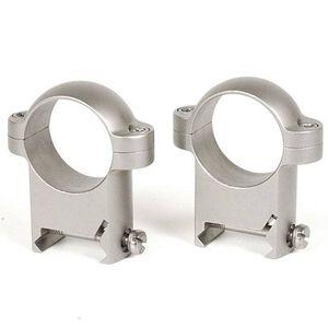 """Burris Solid Steel Weaver Zee Rings 1"""" High Nickel 420085C"""