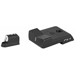 XS Sight Systems DXT Big Dot Night Sights CZ P-10 Green Tritium Front/Tritium Rear Matte Black