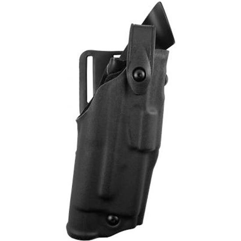 """Safariland 6360 ALS Level III Retention Duty Holster Right Hand Springfield XDM 9mm with Tactical Light and 4.5"""" Barrel STX Tactical Black 6360-1452-131"""