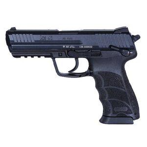 """H&K HK45 V1 Semi Auto Pistol .45 ACP 4.53"""" Barrel 10 Rounds Polymer Frame Black 745001LE-A5"""