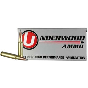 Underwood Ammo 6.5 Grendel Ammunition Box 105 Grain Lehigh Defense Match Solid Flash Tip Lead Free Projectile Lead Free 2800 fps