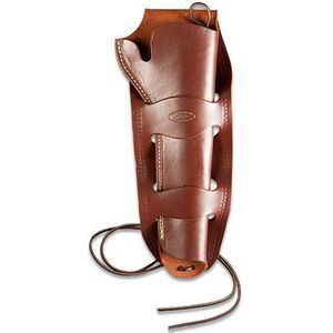 Hunter CO 1080 Double Loop Holster American Arms Regulator Brown Leather