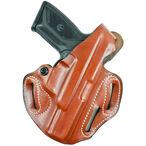 DeSantis Gunhide Thumb Break Scabbard Springfield XD 9/40, XD(M) 3.8 Belt Holster Right Hand Leather Tan 001TA88Z0