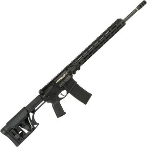"""Adams Arms P3 Rifle .224 Valkyrie AR-15 Semi Auto Rifle 20"""" Proof Research Barrel 30 Rounds Piston Operated M-LOK Compatible Handguard Luth-AR Stock Black Finish"""